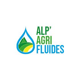 Logo Alp' Agri Fluides créé par YDCréa