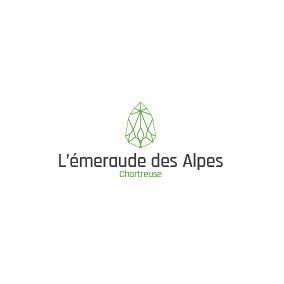 Logo Emeraude des Alpes créé par YDCréa