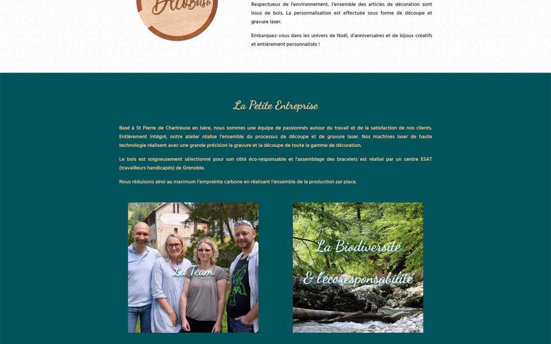 madecobois.fr - site internet sur mesure